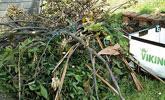 Stärkeres Astmaterial und weicher Gartenabfall