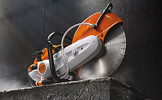 The new world class - The new STIHL cut off machin