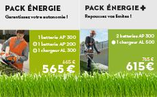 Offre pack batterie PRO