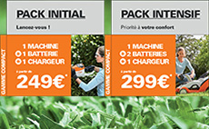 Promotion gamme batterie COMPACT