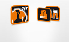 Елементи на оборудването на работното облекло STIH