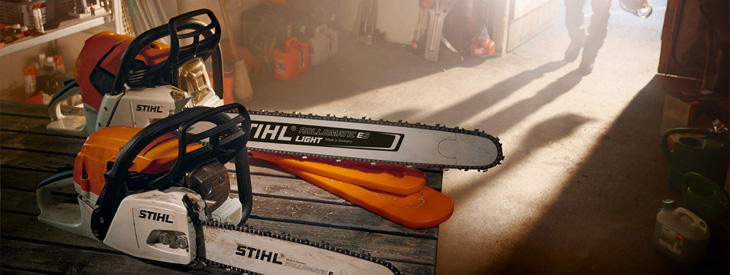 STIHL Chain Saws and Pole Pruners