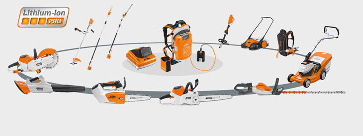 pro cordless power system stihl. Black Bedroom Furniture Sets. Home Design Ideas