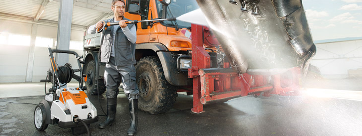 High-pressure cleaners and accessories