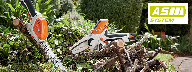 Outils à batterie Gamme AS STIHL