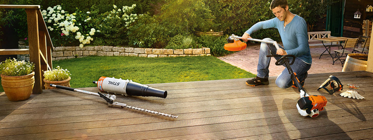 The STIHL MultiSystem
