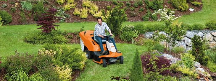 STIHLs trädgårdstraktor utvecklade för att ge dig det bästa