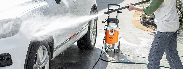 STIHL Waterblasters and Vacuum Cleaners