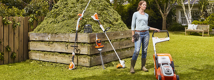 Les machines sur batterie de STIHL