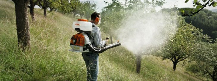 Mistblowers and manual sprayers