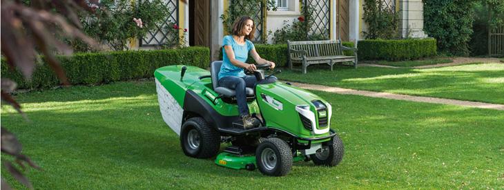 Tracteurs de pelouse ou Tondeuses autoportées