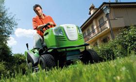 Tractoraşe de tuns iarba