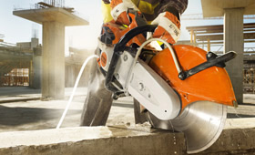 Cut off machines, concrete cutter and augers