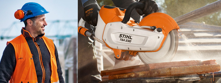 STIHL Cut-off Saws and Concrete Saws
