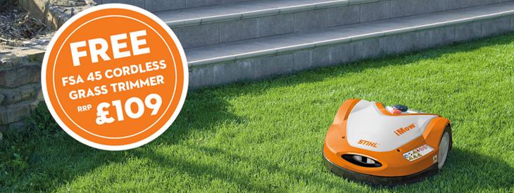 STIHL iMOW® Robot Lawn Mowers