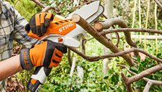 AS-System: Cordless garden pruner