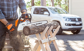 Gas Chain Saws for Property Maintenance