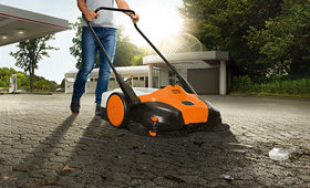 Battery Electric Sweeper