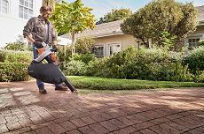 Odkurzacz akumulatorowy do ogrodu