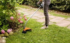 Petrol grass trimmers for home gardens