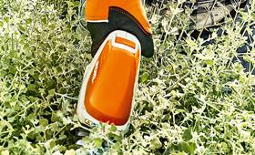 Batteridrevet busktrimmer