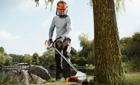 Cordless brushcutters