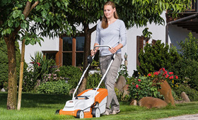 COMPACT Battery Electric Power System Lawnmower