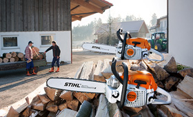 Motorsåg för jordbruk, skog och mark