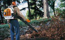 Sopradores para conservação e jardinagem profissional