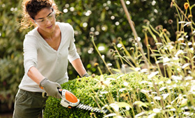 Battery Electric Shrub Shears and Hedgetrimmer