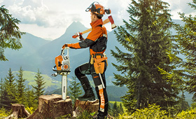 STIHL X-TREEm: Top class chainsaw protection