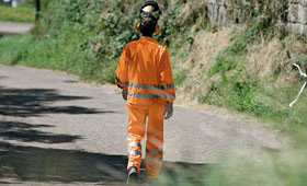 High visibility protective clothing
