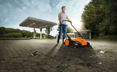 PRO Battery Electric Sweeper
