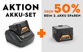 AkkuSystem COMPACT Starter-Sets zum Vorteilspreis
