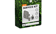 Hedge trimmer service kits