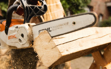 COMPACT cordless power system chainsaws
