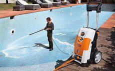 Lavadoras de alta pressão para conservação e jardinagem profissional