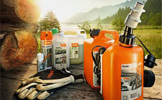 Fuels, Oil, Cleaners and Gas Cans