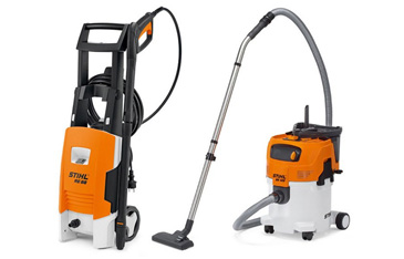 Pressure washers and vacuums