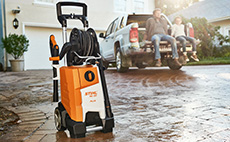 Pressure washers and vacuum cleaners