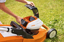 Battery Lawn Mowers