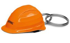 Safety helmet keyring