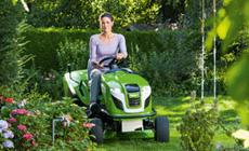 Accessoires tracteurs de pelouse