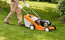 Lawn mowers for domestic use