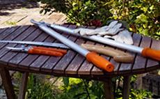 Herramientas para el mantenimiento de jardín
