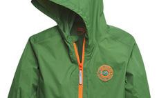 Children's packable rain jacket
