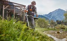 Petrol brushcutters for landscape maintenance