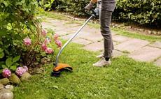Petrol grass trimmers for home gardens