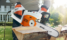 Electric chain saws