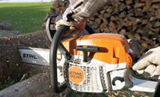 Βενζινοκίνητα αλυσοπρίονα για τη γεωργία και την κηπουρική